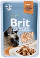 Brit Premium Cat Adult Filety z indyka w sosie 85g