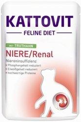 Kattovit Niere/Renal - Karma dla kotów z niewydolnością nerek z indykiem 85g