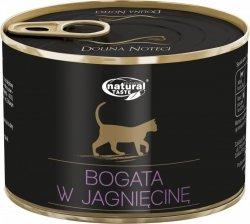 Natural Taste Cat Bogata w jagnięcinę 185g