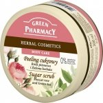 Peeling Cukrowy Róża Piżmowa i Zielona Herbata, Green Pharmacy