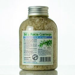 Black Sea Salt, Rosemary Bath Salt, 500 g