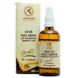 Body Firming Massage Oil, 100% Natural