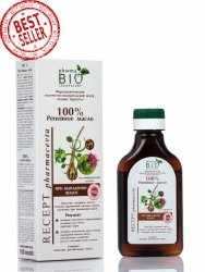 Burdock Oil against hair loss, 100 ml
