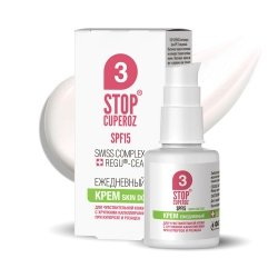 Daily Cream SPF15 Stop Cuperoz® Couperose & Rosacea