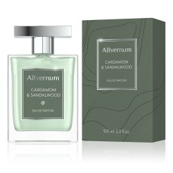 Cardamom & Sandalwood, Allvernum Eau de Parfum for Men, 100mla