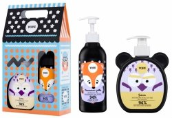 Jasmine Soap & Orange Gel Gift Set for Kids, Yope