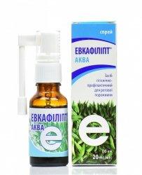 Eucafillipt Aqua, Spray, 20ml