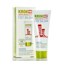 Foot Balm KROK MED Anti-smell And Sweat, 75 ml