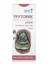 Pniarek Lekarski (Fomitopsis officinalis), Krople 100 ml