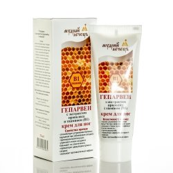 Propolis Leg Cream with Vitamin B1 Heparven, 75ml