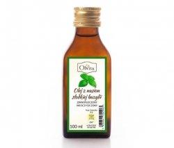 Sweet Basil Seed Oil, Cold Pressed, Olvita, 100ml