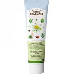 Foot relaxing cream for tired and swelling legs Chestnut, Green Pharmacy