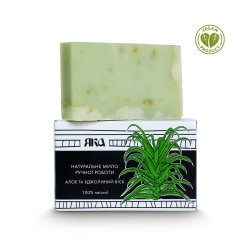 Natural Bar Soap Aloe and Beeswax, Yaka