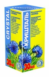 Crystal Herbal Drops, Ekomed Phyto Concentrate