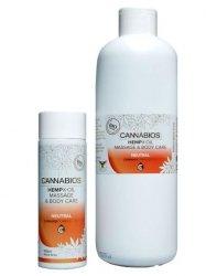 Hemp Massage Oil for X-OIL Neutral Cannabios