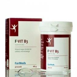 ForMeds F-VIT B3 Witamina B3, Suplement Diety w Proszku