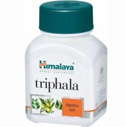 Triphala, Himalaya, 60 kapsułek wegańskich