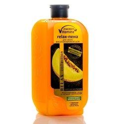 Pianka do Kąpieli Rewitalizująca Energy of Vitamins Melon & Cukier Waniliowy, 500 ml