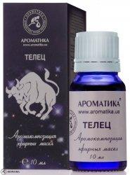Byk Kompozycja Olejków Aromaterapeutyczna dla Znaku Zodiaku, 100% Naturalna