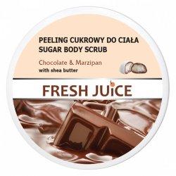 Chocolate & Marzipan Peeling Cukrowy do Ciała, Fresh Juice