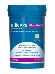 BICAPS MicroBACTI 60 kapsułek ForMeds Probiotyk