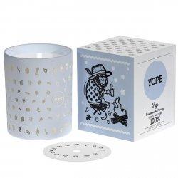 Świeca Zapachowa Figa, Yope, 100% Naturalna