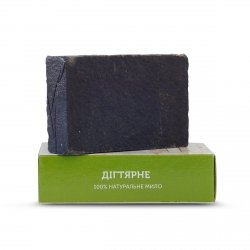 Mydło Naturalne Ręcznie Robione Dziegciowe, 75 g