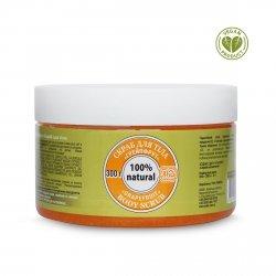 Peeling do Ciała Cukrowy Grejpfrutowy, 300 g, 100% Naturalny