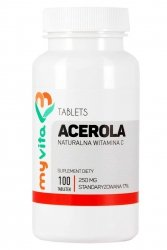 Acerola, Tabletki, MyVita