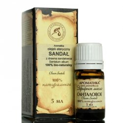 Olejek Sandałowy (Santalum album), 100% Naturalny, Aromatika, Afrodyzjak