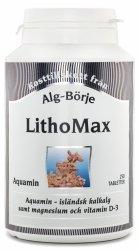 LithoMax Aquamin, Suplement Diety na Stawy, Kości, Alg-Börje