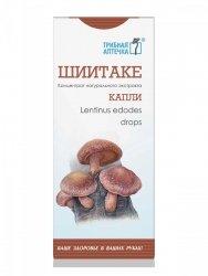 Grzyb Shiitake (Lentinus edodes), Krople 100 ml