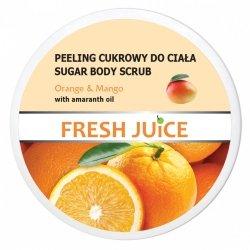 Orange & Mango Peeling Cukrowy do Ciała, Fresh Juice