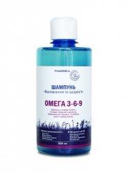 Szampon Odbudowujący z Kwasami Omega 3-6-9, Pharmea