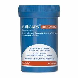 BICAPS DIOSMIN Formeds, Diosmina, 60 kapsułek