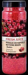 Perełki do Kąpieli Wiśnia i Granat, Fresh Juice, 450g