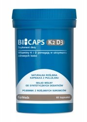 ForMeds Bicaps K2 D3, 60 kapsułek, Suplement Diety