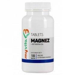 Magnez 450 mg + witamina B6 MyVita