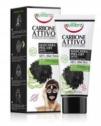 Oczyszczająca Maska Typu Peel - Off z Aktywnym Węglem, Equilibra