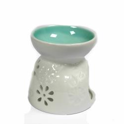 Kominek Zapachowy Ceramiczny Kwiaty