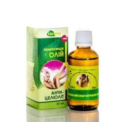Olej do Masażu Antycellulitowy, 100% Naturalny