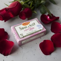 Mydło Aleppo Prestige Różane, 100g