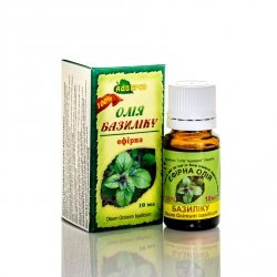 Olejek Bazyliowy, 100% Naturalny Adverso