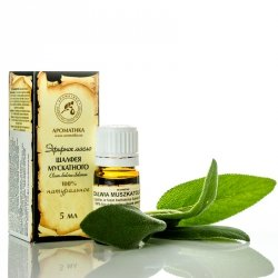 Olejek z Szałwii Muszkatołowej, 100% Naturalny
