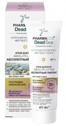 Krem na Dzień Liftingujący 55+ SPF15, Pharmacos Dead Sea