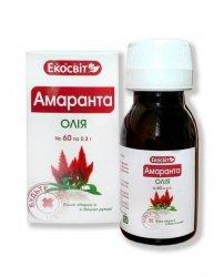 Olej Amarantusowy, 60 kapsułek