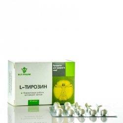 L-Tyrozyna, 400 mg 50 kaps., Aminokwasy, Elit-pharm