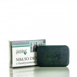 Mydło Detox z Węglem Bambusowym, 70g