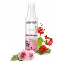 Róża i Geranium Perfumowana Mgiełka do Ciała, Allvernum