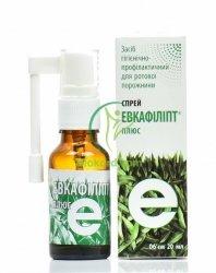 Eukafilipt, Wyciąg z Pędów Eukaliptusa, Spray, 20ml